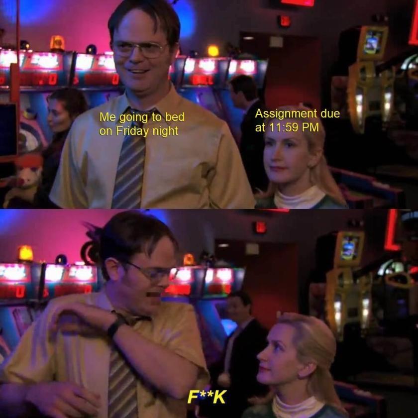 Dwight Says Fuck