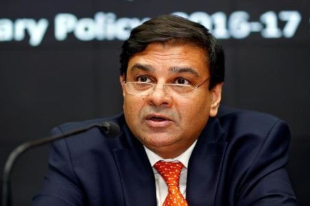 RBI Governor Patel speaks during a news conference after the bi-monthly monetary policy review in Mumbai
